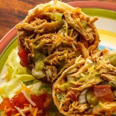 Baja Chicken Burrito