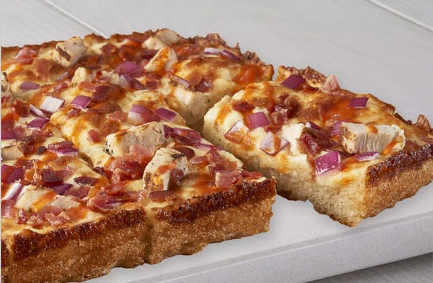 Buffalo Ranch Chicken Pizza