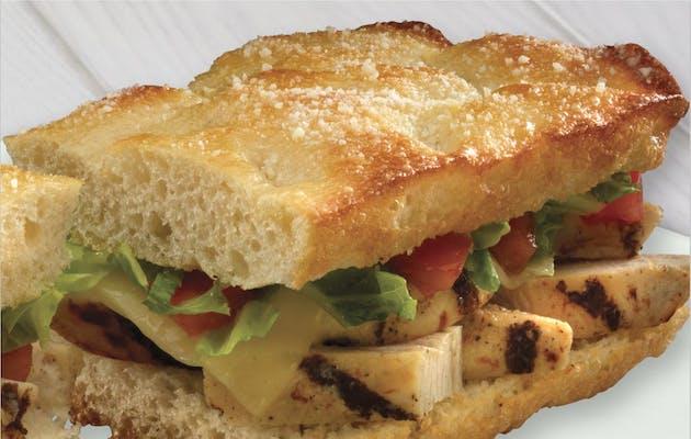 Grilled Chicken Jetzee Sandwich