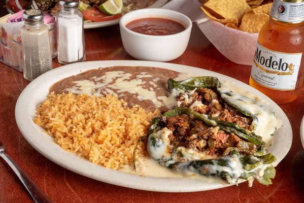 63. Chiles Poblano Dinner