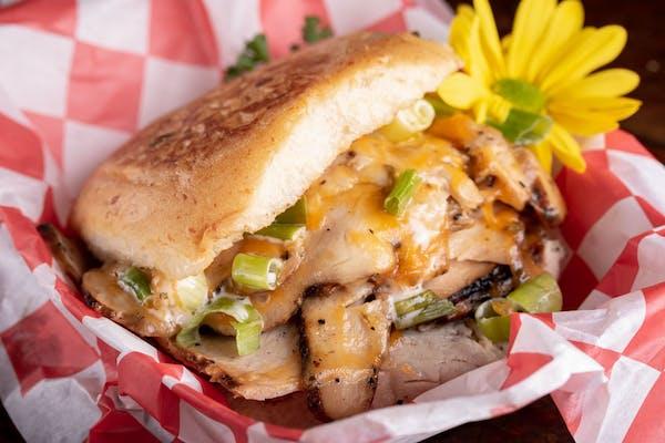 Smoked Turkey Cliffhanger Sandwich