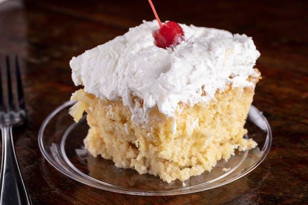 Homemade Piña Colada Cake