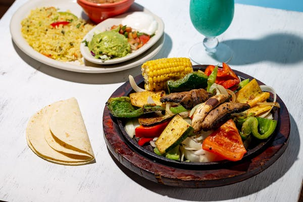 Meatless Fajitas
