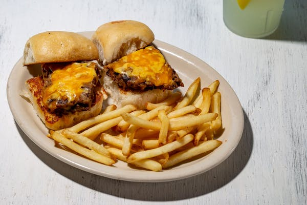Kid's Burger Platter
