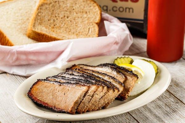 Prime Beef Brisket Sandwich