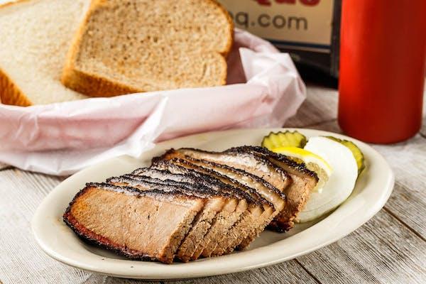 Extra Lean Prime Beef Brisket Sandwich