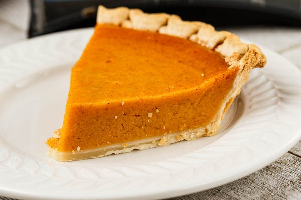 Slice of Sweet Potato Pie