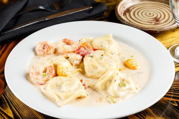 Seafood Raviolis