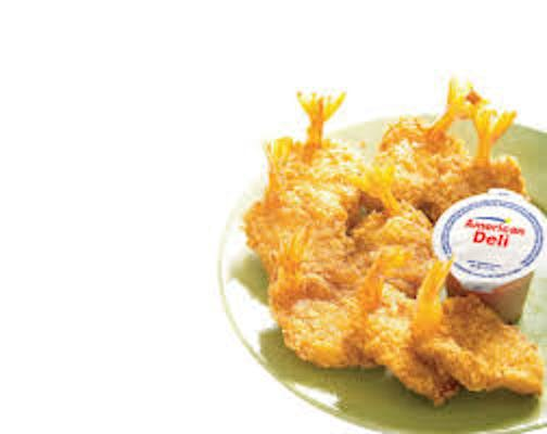 (8 pc.) Fried Shrimp with Fries & Drink