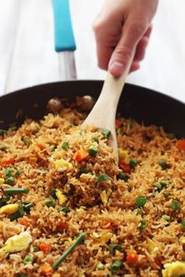 Vegetable Fried Rice Combo