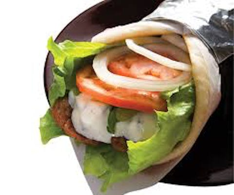 Gyro Wrap with Fries & Drink