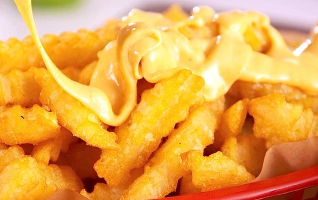 Cheese fries (small)