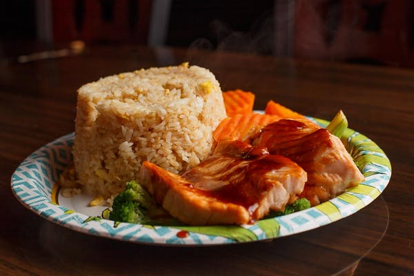 Salmon Hibachi