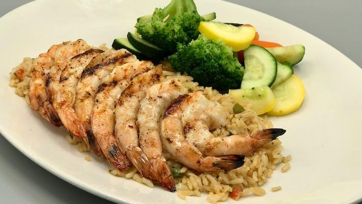 Char-Grilled Shrimp