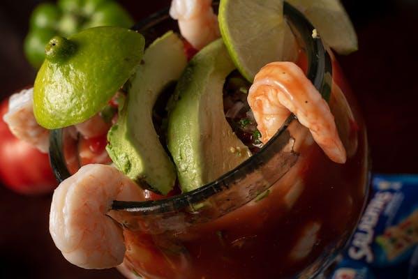 Shrimp Cocktail Campechano