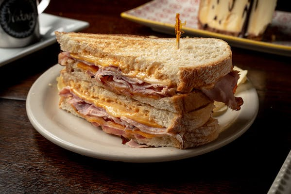 Ultimate Grilled Ham & Cheese Panini