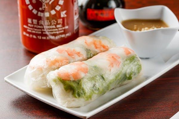 A2. Shrimp Spring Rolls