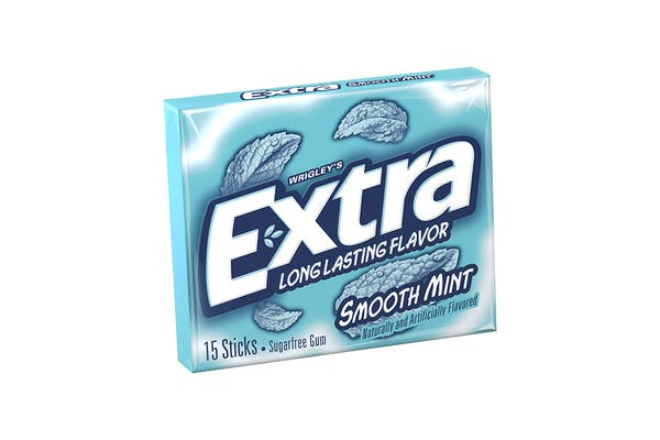 Extra Smooth Mint Gum