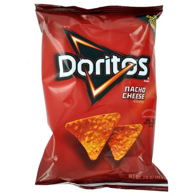 Dortio's Nacho Cheese Chips