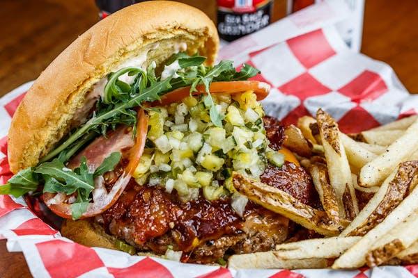 The Heat Seeker Burger