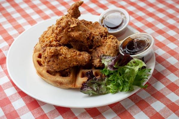 Chicken Wings & Waffles