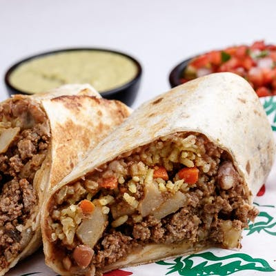 Beef & Potato Burrito