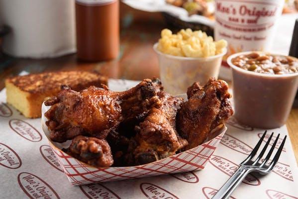 Smoked Chicken Wings Platter