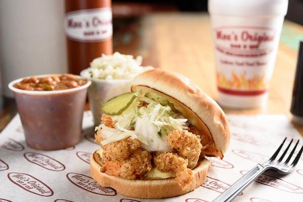 Fried Shrimp Moe-Boy Meal