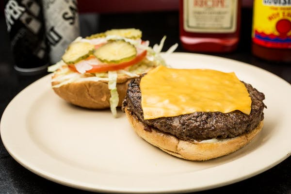 Angus Burger with Cheese