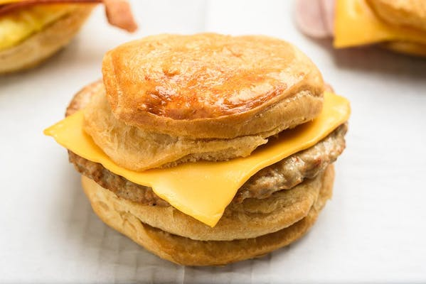 Sausage & Cheese Biscuit
