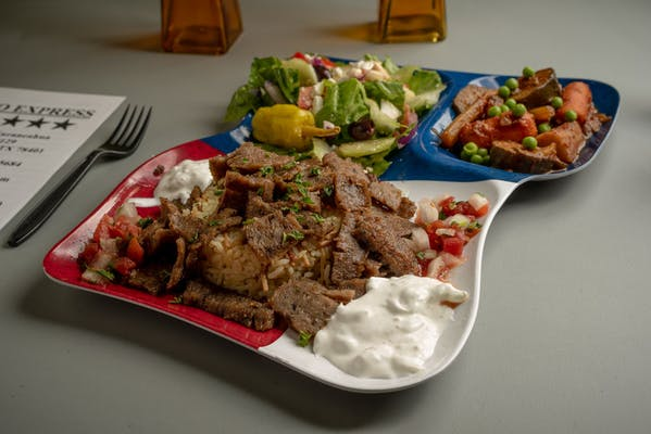 Gyro Lunch Plate