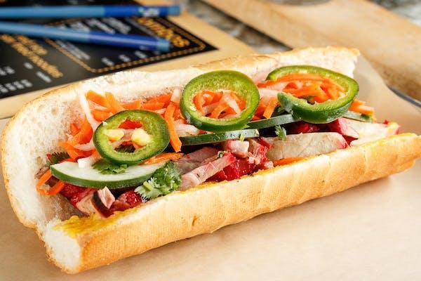 Xá Xíu Pork Sandwich