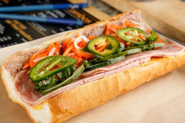 Ham Pâté Sandwich