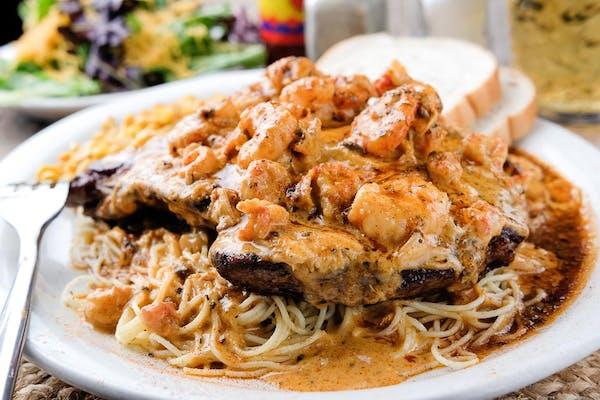 Ribeye or Filet New Orleans