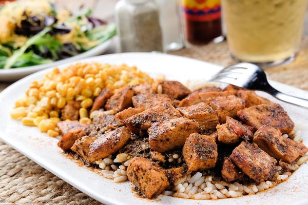 Blackened Chicken Dinner