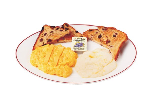 Side Raisin Toast