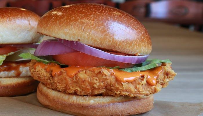 Hand Breaded Chicken Sandwich