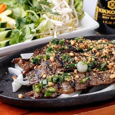 Vietnamese Beef Fajitas