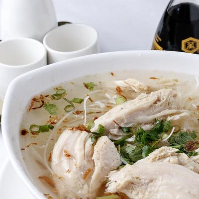 Jasmine Chicken Noodle Soup