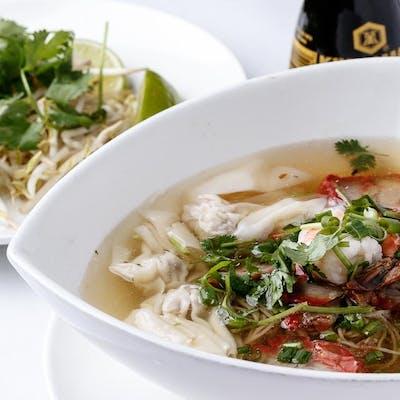 Saigon Egg Noodle Soup