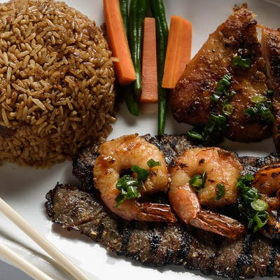 Mama La Combo Rice Platter