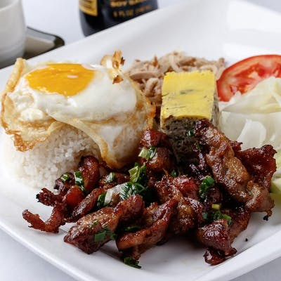 Grilled Pork Rice Combo