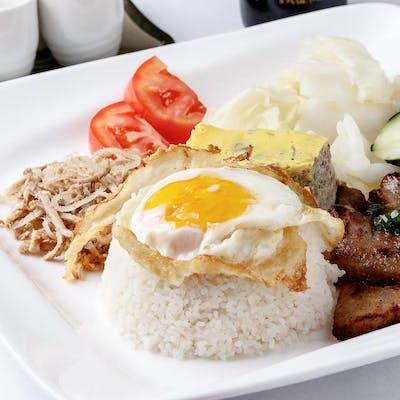 Pork Chop Rice Combo