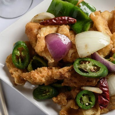 Pan-Fried Squid
