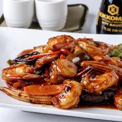 Hunan Shrimp (Spicy)