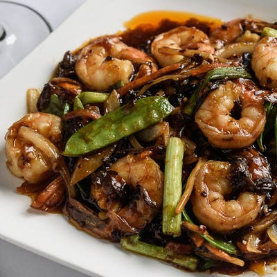 Garlic Shrimp (Spicy)