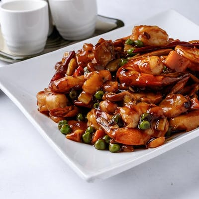 Kung Pao Shrimp (Spicy)