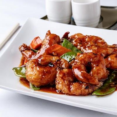 General Tso's Shrimp (Spicy)