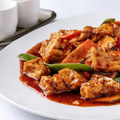 General Tso's Tofu (Spicy)