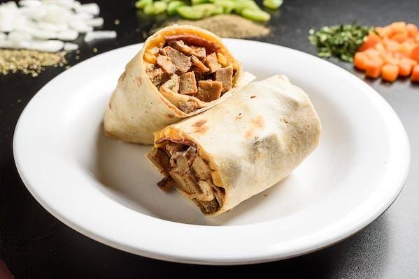 XXL Turkey Burger Wrap